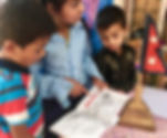 Children in Nepal with The Country That Shook book
