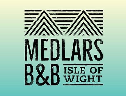 Medlars B&B logo design