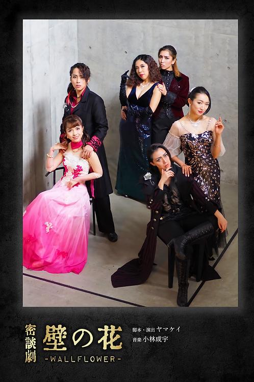 【あとがき付き】密談劇「壁の花」公演パンフレット
