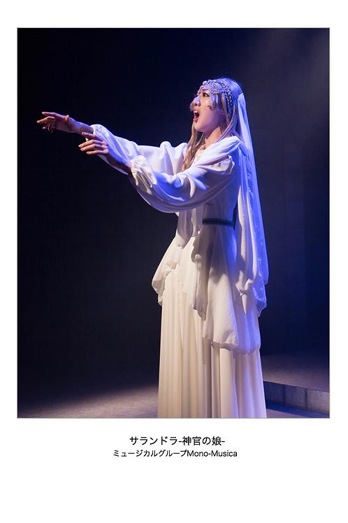 初演版「サランドラ-神官の娘-」舞台写真集