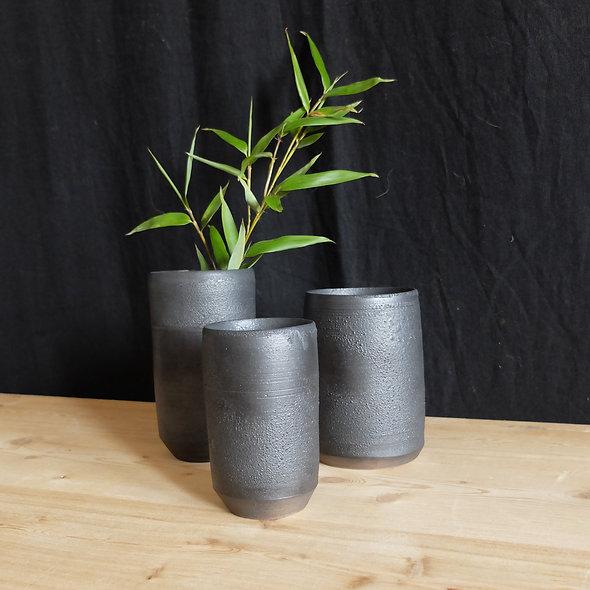 TRIO de vases Japan