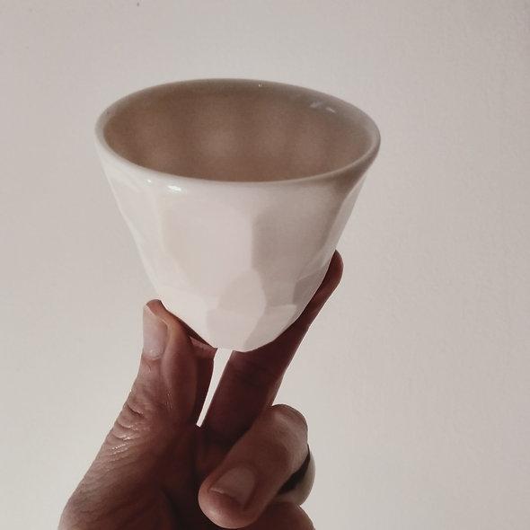 Tasse à café Porcelaine anone  émaillée