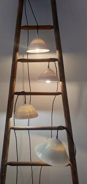 Luminaire en porcelaine