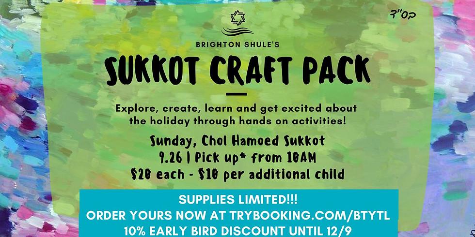 Sukkot Craft Pack