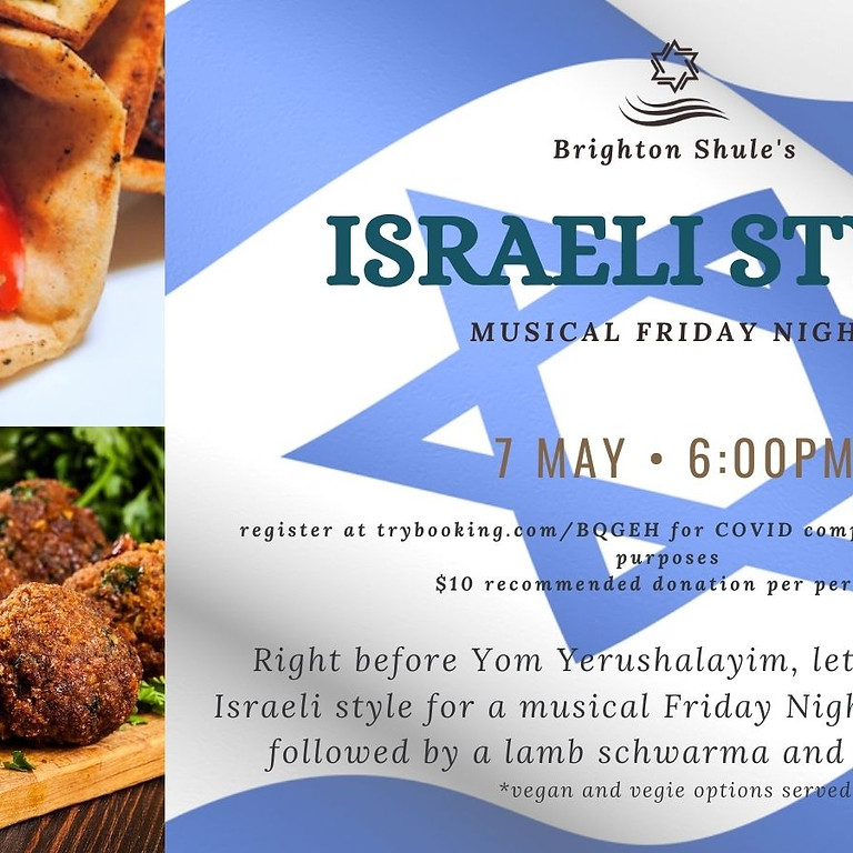 Friday Night Live Israeli Style