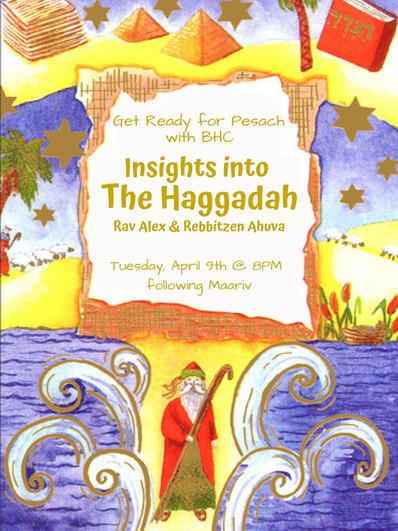 Alex and Ahuva Haggadah Shiur