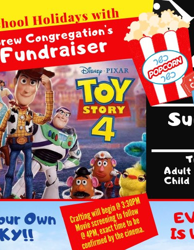 Movie flyer 2019 toy story