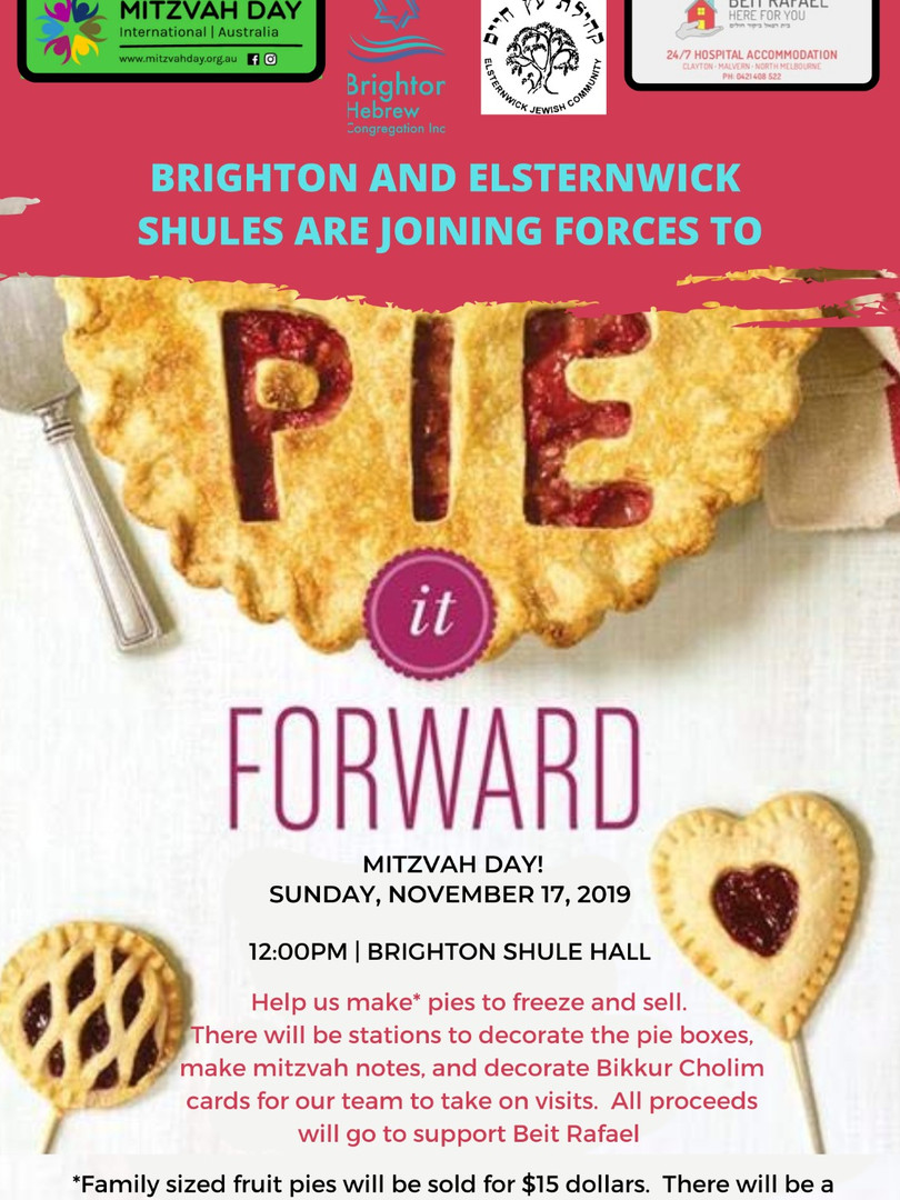 Pie it forward updated