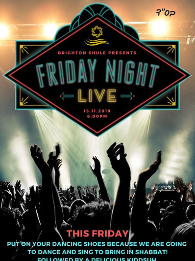 Friday night Live 15 November 2019
