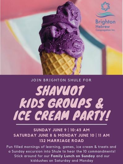 Shavout Ice Cream Party 2019