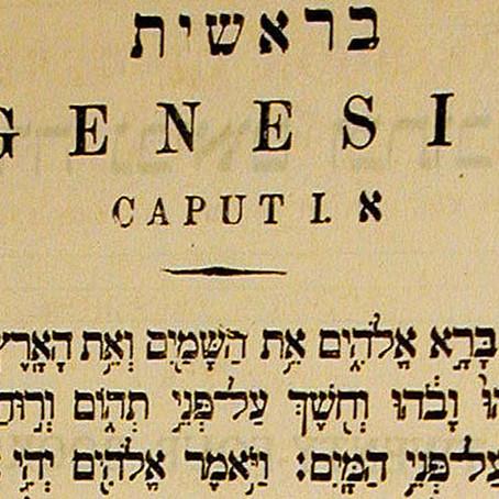 Dvar Torah - Bereshit