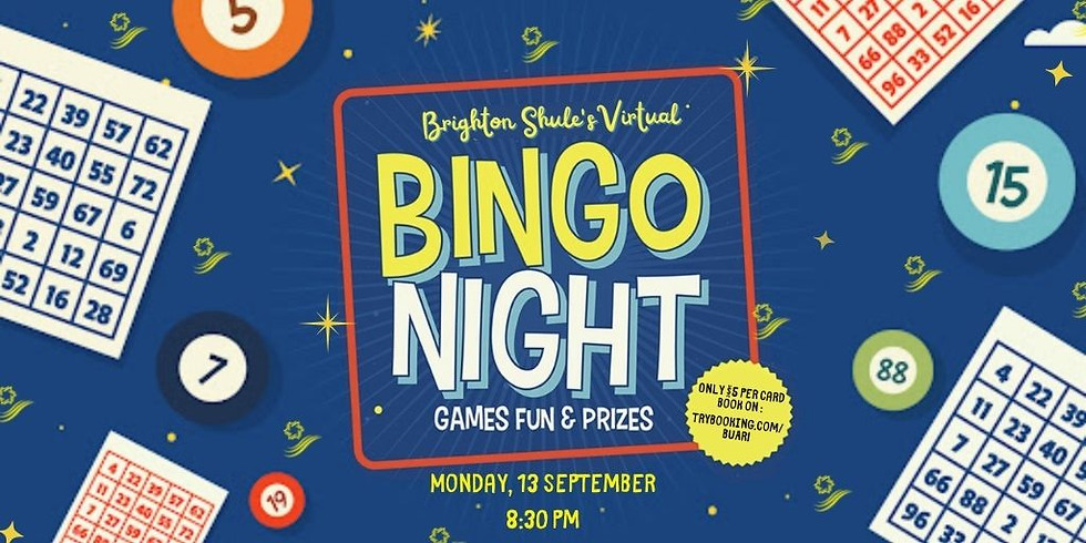 Brighton Shule Bingo Evening