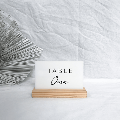 Andrea table name