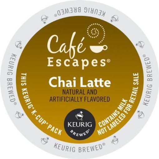 Cafe Escapes Chai Latte K-Cup
