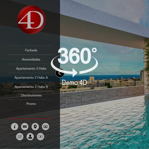 Captura 4D con icono 360 para demo 4d.pn