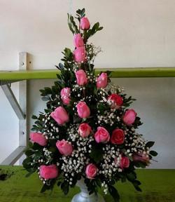 Arranjo de Rosas para Decoração