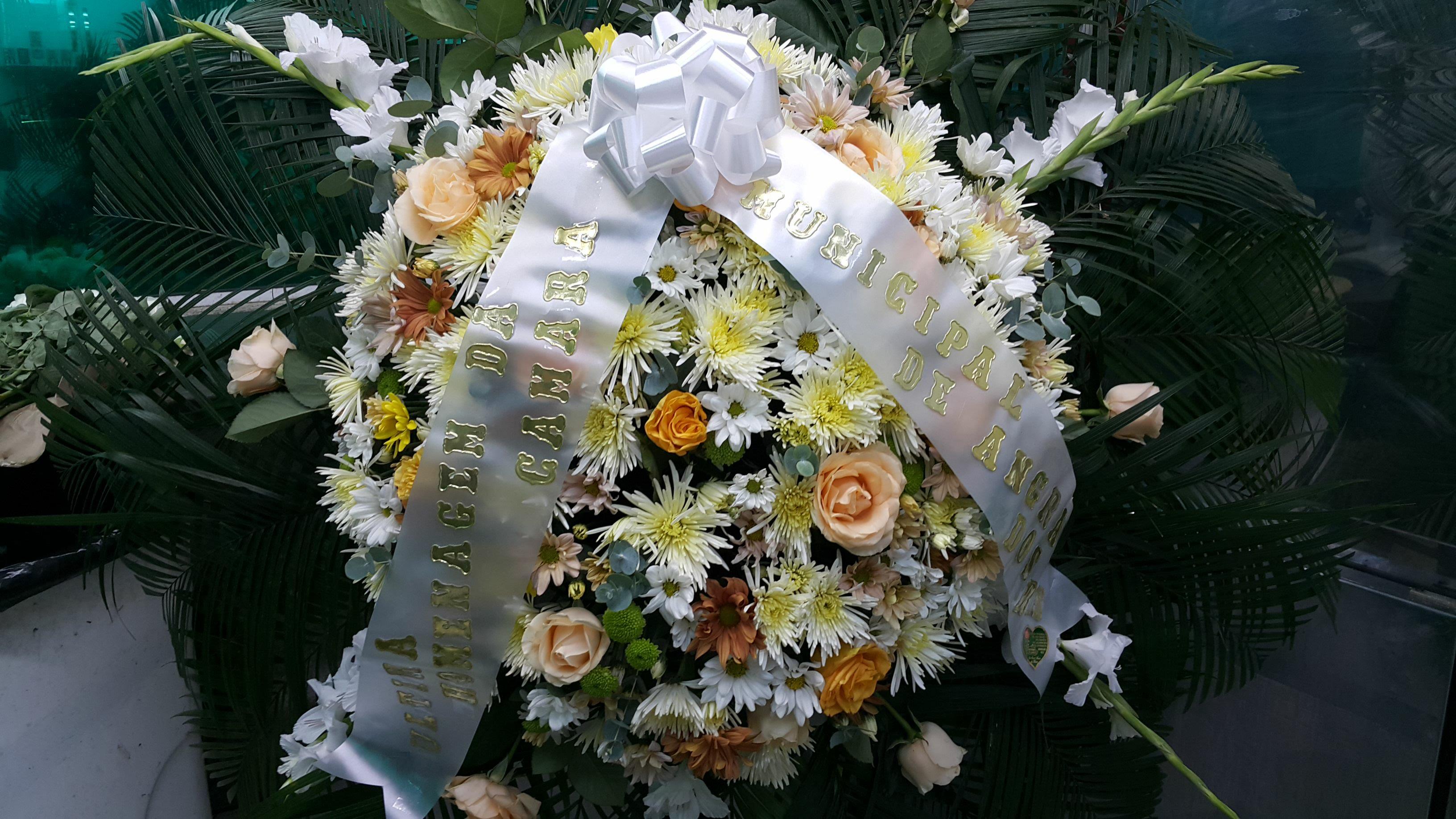 Coroa de Flores Grande