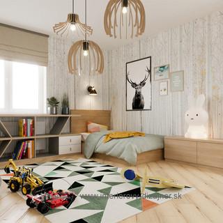 Detská izba pre Filipka a prírastok