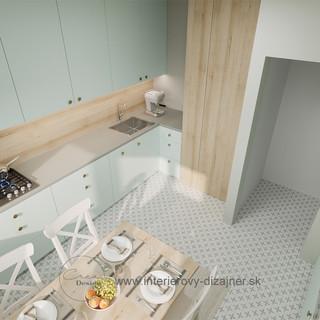 Kuchyňa v byte