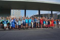 Kurz-Diashow Blauring Sommerlager