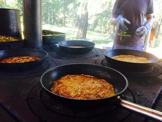 Einige Eindrücke aus der Lager-Küche