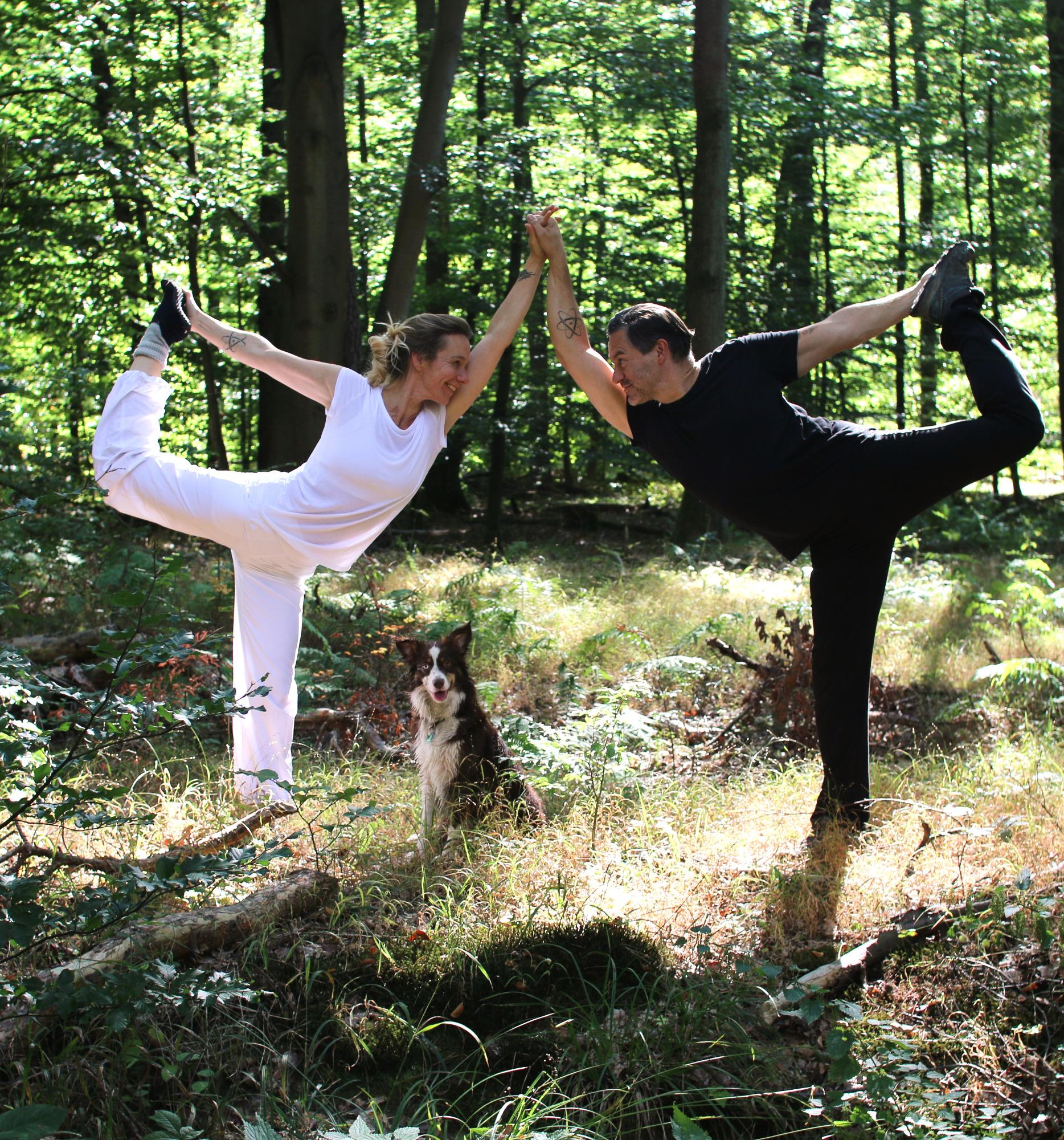 Partner Yoga mit Katharina & Sascha