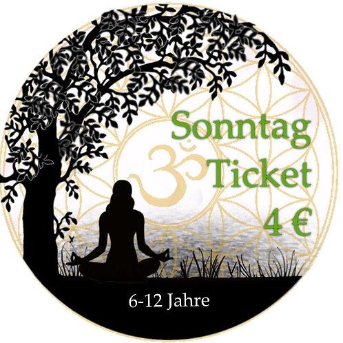 Sonntag Ticket Kids 21.06.2020