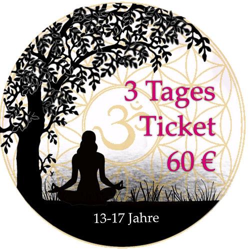 3 Tages Ticket Teens 19.-21.06.2020