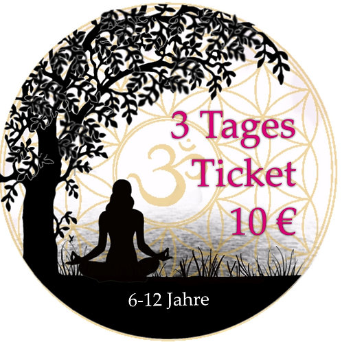 3 Tages Ticket Kids19.-21.06.2020
