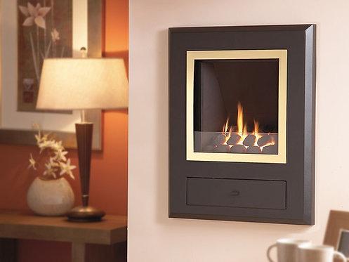 Flavel Finesse Gas Fire Brass & Coal