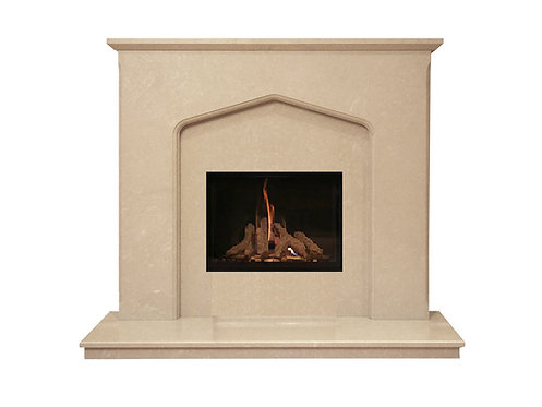Oxford 48 inch Marble Fireplace Suite
