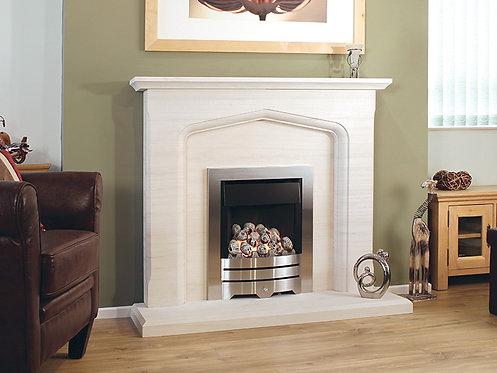 The Algarve Limestone Fireplace 48