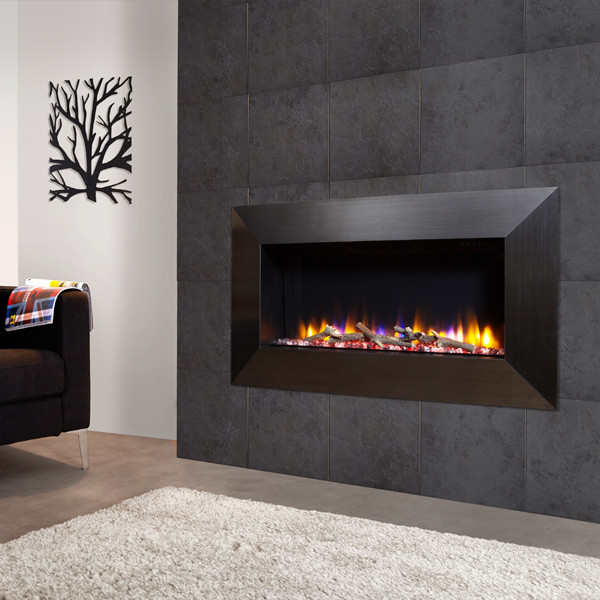 The Ultiflame VR Instinct is a wall inset electric fire