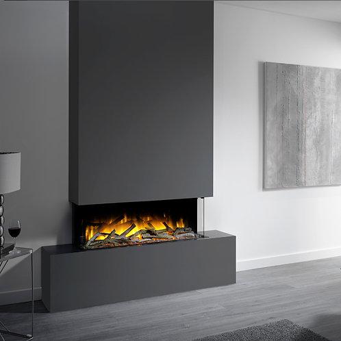 Flamerite Glazer 1000 3-Sided Electric Fire