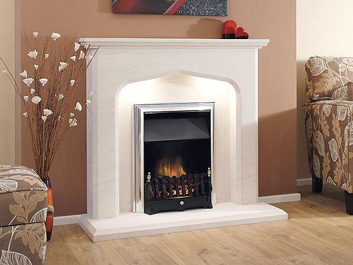 The Viana Limestone Fireplace 48