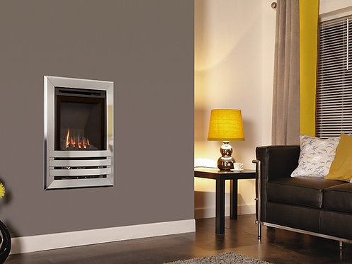 Windsor Contemporary HE Wall Inset Gas Fire Manual Control