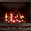 ECO 2 OPEN FRONTED BLACK INSET GAS FIRE