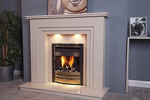 Aviana Marble Fireplace