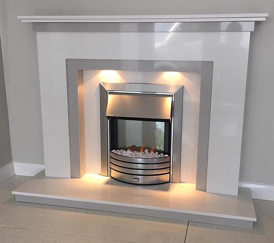 Rokah Marble Fireplace