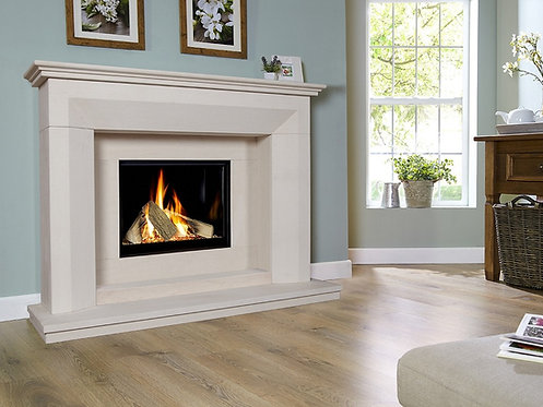 Angelo Celena Limestone  Gas Fireplace CF