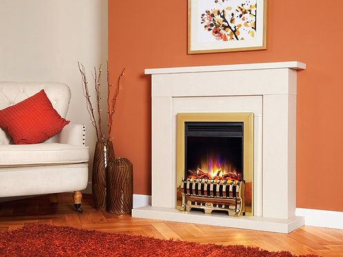 Celsi Electriflame XD Royale Electric Fire Gold