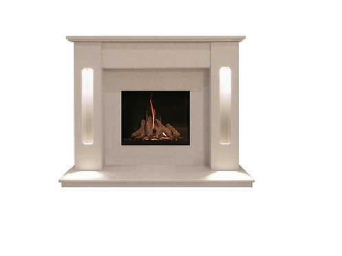 Dorchester 48 inch Marble Fireplace Suite