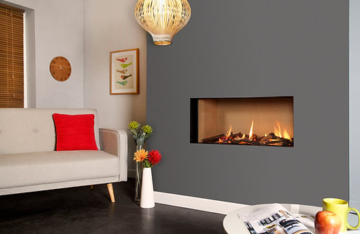 Eden Elite HE Frameless Gas Fire