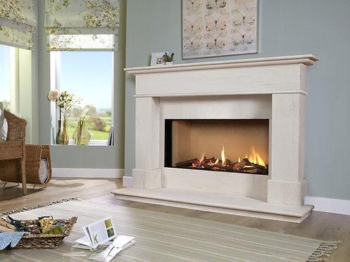 Avignon Eden Elite 54 Limestone Fireplace Gas Suite CF
