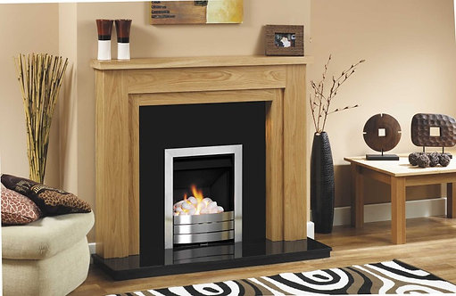 GB Mantels Chelsea Oak Veneer Surround
