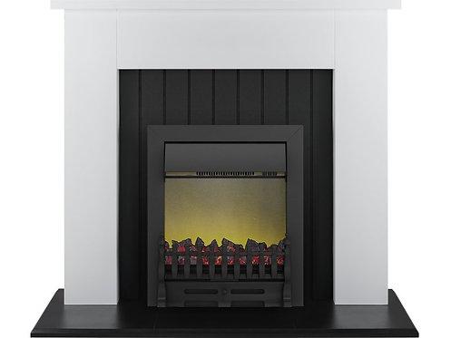 Chessington Surround in Black Electric Fire