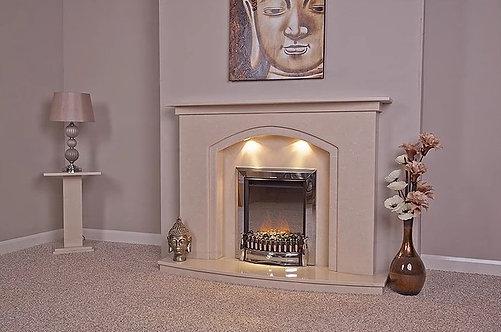 Aisha Marble Fireplace