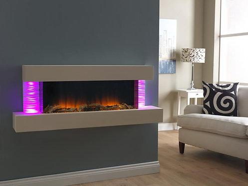 Luma 1360 LED Wall Mounted Electric Fireplace