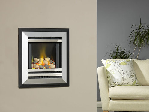 Flavel Diamond HE Gas Fire wall mounted