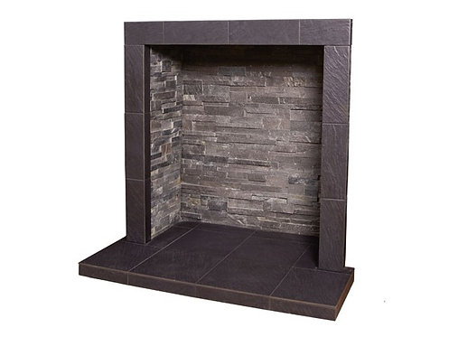 Grey Slate Chamber with Small Hearth